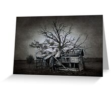 Dead Place Greeting Card