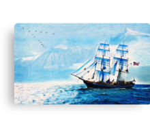 sailing south 2 Canvas Print