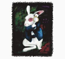 Alice in Wonderland White Rabbit by BunnyRoots