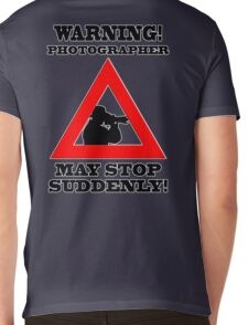 Warning! Photographer Mens V-Neck T-Shirt