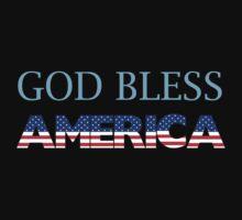 God Bless America One Piece - Long Sleeve