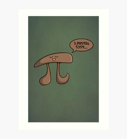 I am Pi Art Print