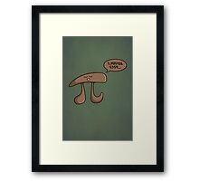 I am Pi Framed Print