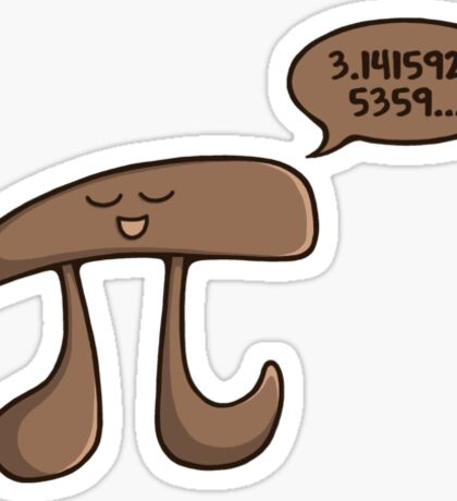 I am Pi Sticker