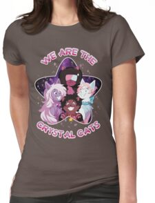 We are the Crystal Cats Womens Fitted T-Shirt