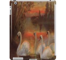 Vintage Gorgeous Swans on the Lake - iPad Case iPad Case/Skin