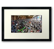 Haarlem Station Framed Print