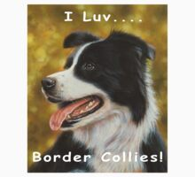 I luv Border Collies! Kids Clothes