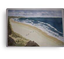 Bass coast hikers Canvas Print