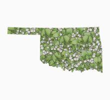 Oklahoma Flowers One Piece - Short Sleeve