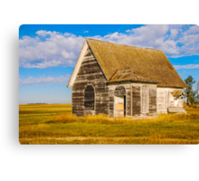 The Sunbeam Church Canvas Print