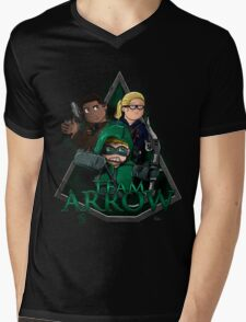 Original Team Arrow #TheOriginalGangstas Mens V-Neck T-Shirt