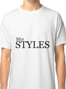 Mrs Styles Classic T-Shirt
