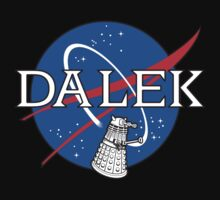 Dalek Space Program Kids Tee