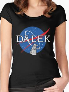 Dalek Space Program Women's Fitted Scoop T-Shirt