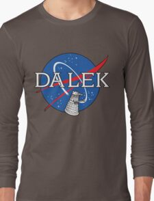 Dalek Space Program Long Sleeve T-Shirt