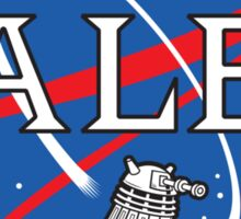 Dalek Space Program Sticker