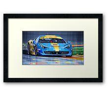 Ferrari 458 Challenge Team Ukraine 2012 Framed Print