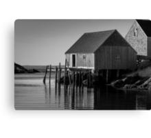 Fishing Village at Peggys Cove Nova Scotia Canvas Print