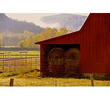 A Little Bit Country,  just as glimpse.... Photographic Print