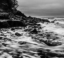 Receding Tide at Ross Creek Nova Scotia by Randy Hill