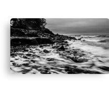 Receding Tide at Ross Creek Nova Scotia Canvas Print