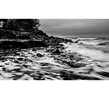 Receding Tide at Ross Creek Nova Scotia Photographic Print
