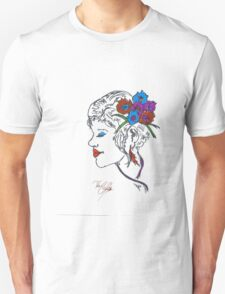 Elegant Hair Pin girl Unisex T-Shirt