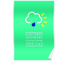 Scattered Showers Poster