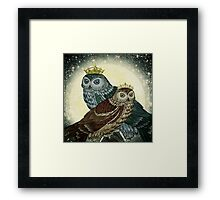 You are the queen / king of my nights Framed Print