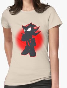 Shadow the Hedgehog Womens Fitted T-Shirt