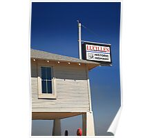 Route 66 - Lucille's Gas Station Poster