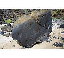 Lava Rock! Photographic Print