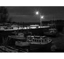 Delhaven Wharf, Nova Scotia Canada Photographic Print