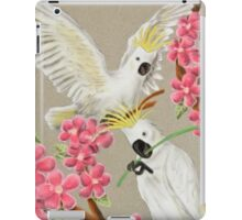 Cockatoo With Flowers iPad Case/Skin