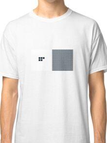 Number BLACK+white 5 Classic T-Shirt