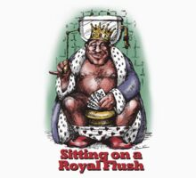 Sitting on a Royal Flush Baby Tee