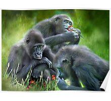 Ape Moods Poster