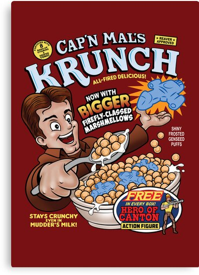 Captain Mal's Krunch Cereal by TeeNinja