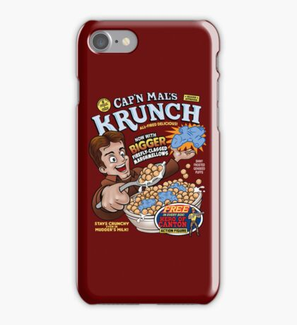 Captain Mal's Krunch Cereal iPhone Case/Skin