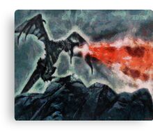 Dragon's Breath Canvas Print