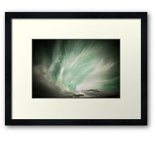 Different Clouds Framed Print