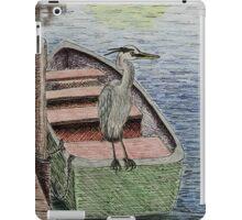 Great Blue Heron iPad Case/Skin