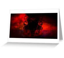 Dark Energy Greeting Card