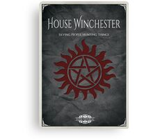House of Winchester Canvas Print