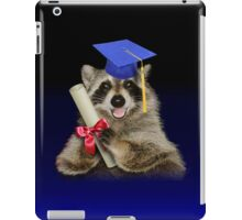 Congratulations Graduate Raccoon iPad Case/Skin