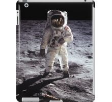 Buzz Aldrin on the Moon NASA iPhone/iPad Space Case iPad Case/Skin