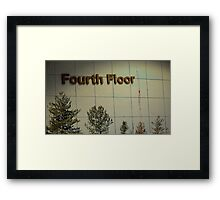 Fourth Floor and Downtown Framed Print