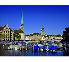 Limmat River Photographic Print