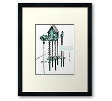 House, Home Framed Print